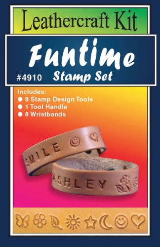 Realeather Crafts Leathercraft Funtime Stamp Set