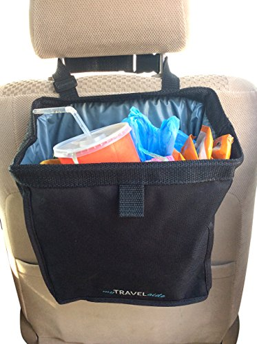 MyTravelAide Unique Car Trash Can - Premium, Leakproof, Hanging Garbage Bag for Vehicles (Trash Can Cars compare prices)