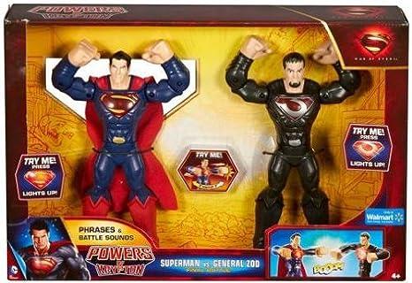 Man of Steel Powers of Krypton 2-Figure Pack: Superman vs. General ...