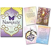 Namaste Blessing & Divination Cards by Toni Carmine Salerno (2016-01-08)