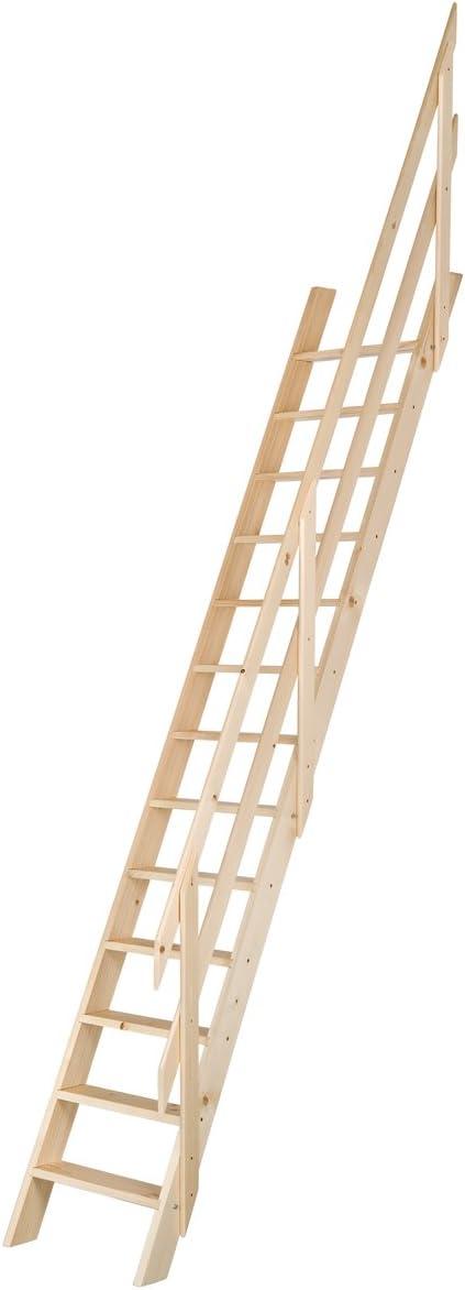 Escalera de molinero ajustable de madera: Amazon.es: Bricolaje y herramientas