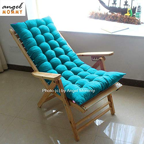 Angel Mommy Premium Rocking Chair Cushions/Non-Slip Sofa, Bench, Home-Garden Cushions – Pack of 1 (48'x18'Inch), Aqua…