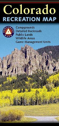 Colorado Recreation Map - Map Colorado