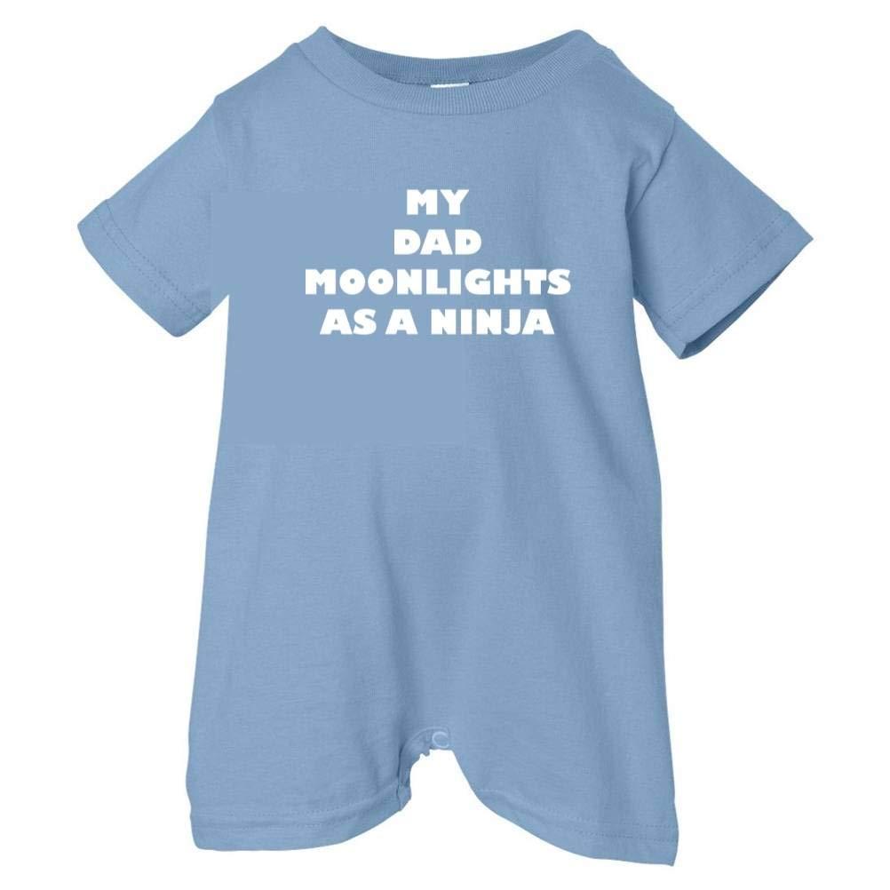 So Relative Unisex Baby Dad Moonlights As Ninja T-Shirt Romper