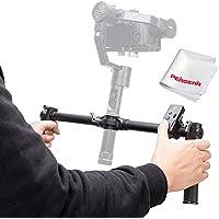 Zhiyun Crane Plus Crane V2 Crane-M Dual Handheld Grip with Wireless Thumb Controller and PERGEAR Cleaning Kit