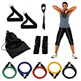 Wacces® 11pcs. Resistance Bands Extreme Excersise Fitness Workout