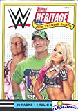 #2: 2018 Topps WWE Heritage Wrestling EXCLUSIVE Factory Sealed Retail Box with RELIC Card! Look for Cards & Autographs of WWE Superstars Sting, AJ Styles, Triple H, Jon Cena The Undertaker & More! WOWZZER