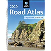 Rand McNally 2020 EasyFinder® Midsize Road Atlas