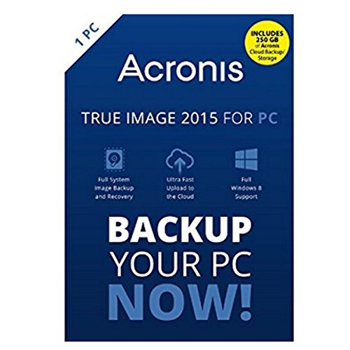 Acronis True Image 2015 For 1 PC