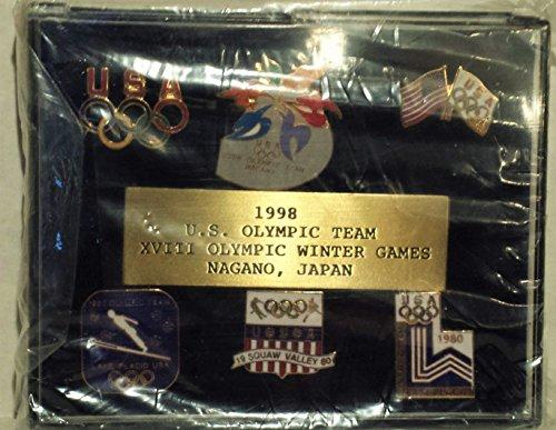 Winter Games 6 Pc Commemorative Pin Set