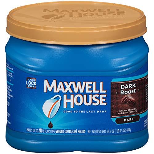 Maxwell House Ground Coffee, Dark Roast, 24.5 Ounce
