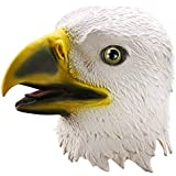 Ylovetoys Head Mask Eagle Mask Novelty Halloween Christmas Easter Costume Party Masks Funny Latex Animal Head Mask