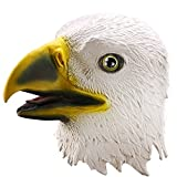 Ylovetoys Halloween Mask Eagle Costume Head Mask Novelty Halloween Costume Party Masks Funny Latex Animal Head Mask