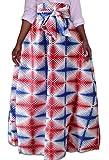 Generic Women's African Tribe Print Dashiki Maxi Long Skirts A Line 3 XL