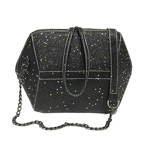 Clearance Sales Womens Girls Evening Clutch Bag AfterSo Fashion Shell Sequins Crossbody Bags Wristlets Bag Handbag Cellphone Bag Coin Cash Bag (17cmL x8cmW x15cmH/6.69