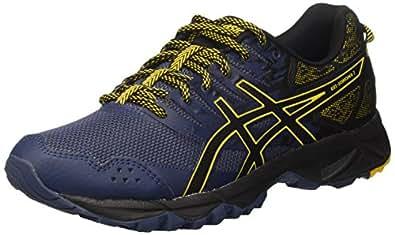 Asics T724N5090, Zapatillas de Running para Hombre, Azul (Insignia Blue/Black/Gold Fusion), 42 EU