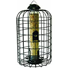 Stokes Select Squirrel Proof Bird Feeder with Four Feeding Ports, 9.3-Inch Diameter, 1 lb Seed Capacity
