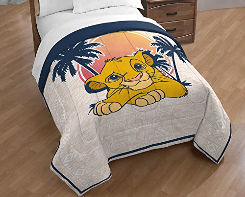 Disney Lion King No Worries Twin comprehensive Blankets Throws