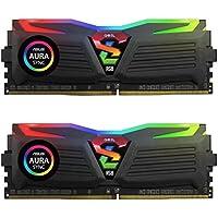 GeIL SUPER LUCE RGB SYNC 8GB (2 x 4GB) PC4-19200 2400MHz DDR4 240-Pin DIMM Desktop Memory + $11.25 Newegg Gift Card
