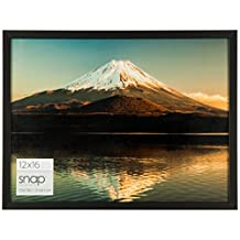 Snap 16FW1079 Pinnacle Frames and Accents Digital Photo Frame, 12-Inch by 16-Inch, Black