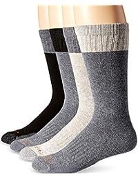 Men's Comfort and Durability Crew Sock 4 Pack