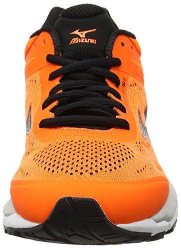 Mizuno Running Orange Noir MX Synchro 2 de Vapor Entrainement Chaussures Blue Black Clownfish Homme rXqrTRcwy