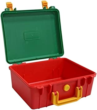 Caja de herramientas portátil de plástico ABS, caja de ...