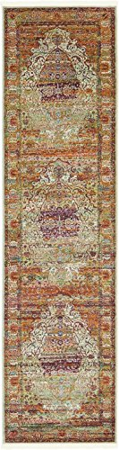 A2Z Rug Cream 2' 7 x 10' Feet Runner St. Tropez Collection Traditional and Modern Area Rugs and Carpet