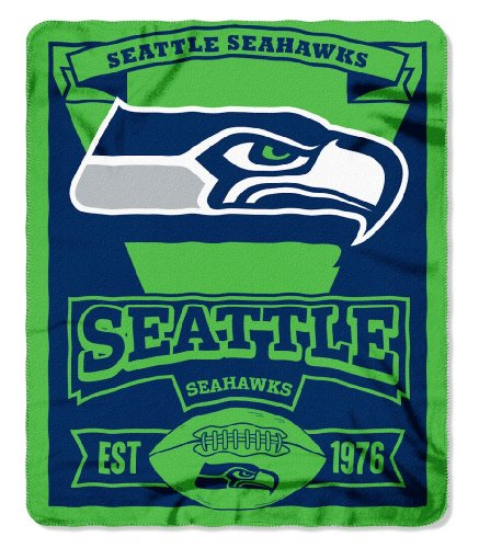 Seattle Seahawks 50x60 Fleece