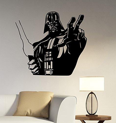 Darth Vader Wall Decal Vinyl Sticker Star Wars Art Movie Decorations for Home Bedroom Kids Boys Living Room Decor (Star Wars Tattoos Ideas)