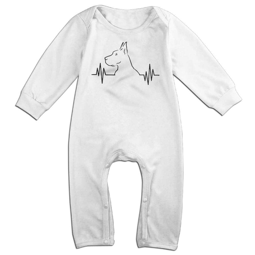 Newborn Baby Coverall Love Great Dane Toddler Jumpsuit