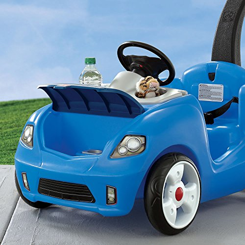 step2 whisper ride ii ride on push car blue buy online in uae toy products in the uae. Black Bedroom Furniture Sets. Home Design Ideas