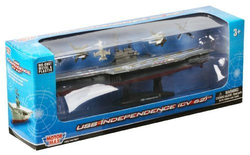 Daron Aircraft Carrier 9  Vehicle with 1 Helicopter by Daron