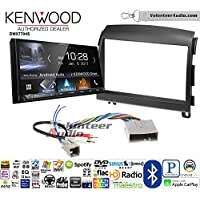 Volunteer Audio Kenwood DMX7704S Double Din Radio Install Kit with Apple CarPlay Android Auto Bluetooth Fits 2006-2008 Hyundai Sonata