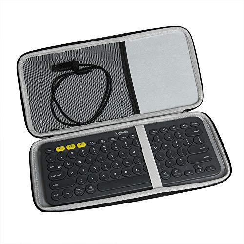 Hermitshell Travel Case Fits Logitech K380 920-007558 920-007559 Bluetooth Keyboard