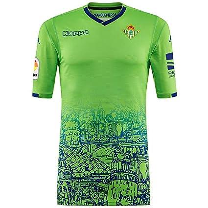 Kappa Kombat Replica Third - Camiseta 3ª equipación Réplica Real Betis Balompié 2018/2019,