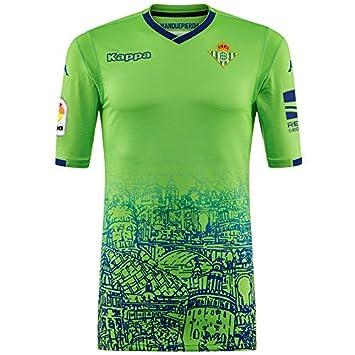 3ª equipación Réplica - Real Betis Balompié 2018/2019 - Kappa Kombat Replica Third - Adulto Adulto: Amazon.es: Deportes y aire libre