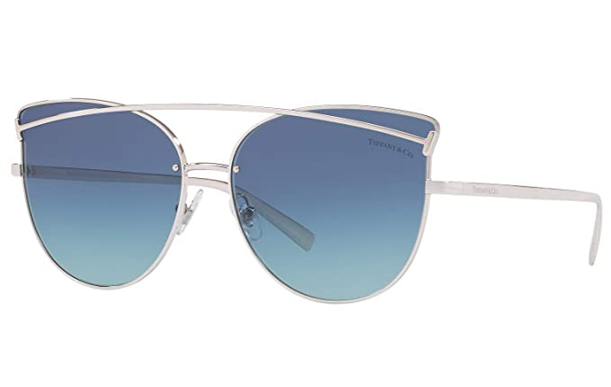 Amazon.com: Tiffany & Co. TF 3064 Cat-Eye Sunglasses for ...