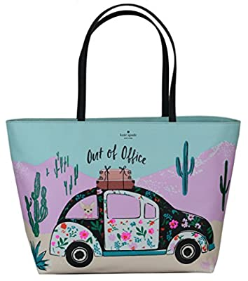 Kate Spade Out of Office New Horizons Remi Tote Bag Multi