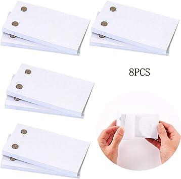 Libro en blanco con agujeros, caja de luz LED para dibujar y rastrear y 240 hojas