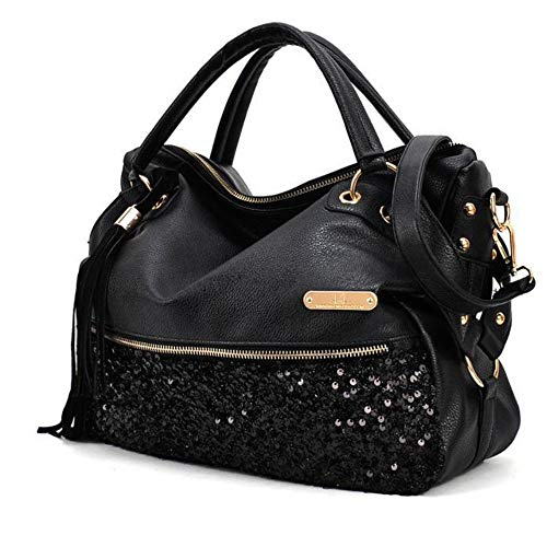 Sac Confortable À Mzdpp Épaule Femme Grande Nouveau Capacité Black Main Léopard Mode Bandoulière BqSSt4