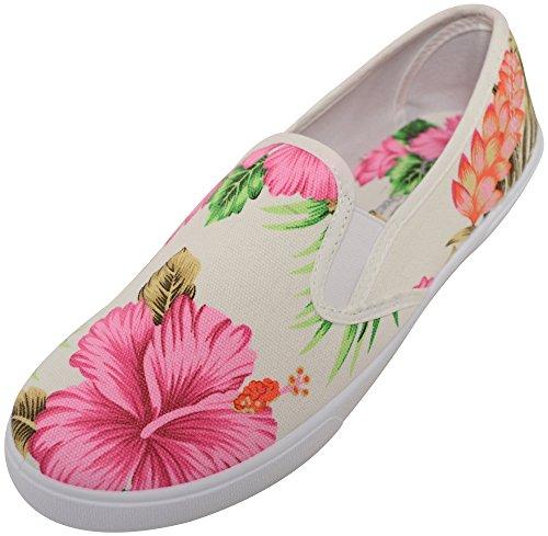 de pour décontractées femmes et de de femmes dames d'été Chaussures toile femmes HTqtZz