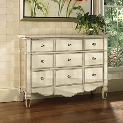 dresser amazon by chest accent com dp veronica pulaski mirrored drawer inch silver