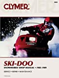 Ski Doo Snowmobile Shop,1985-1989, Clymer Publications Staff and Haynes Manuals, Inc. Editors, 0892875216