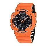 G Shock GA 100 Military Series Watches Orange One Size