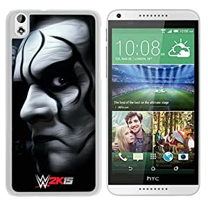 Fashionable And Unique Designed Case For HTC Desire 816 Phone Case With Wwe Superstars Collection Wwe 2k15 Sting 12 White