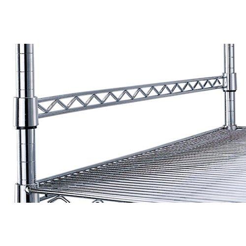 OFM X5 36'' Anti Slide Wire Shelf Bar in Chrome by OFM (Image #1)