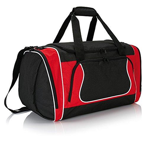 XD-Borsone da Sport, grande formato, Ultimate, 46 cm, 42 L, colore: rosso