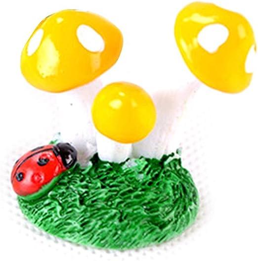 Keepart - Adorno Miniatura de Hongos con Forma de Hongo para jardín de Hadas, para casa, decoración de hogar: Amazon.es: Productos para mascotas