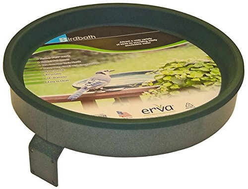 Erva BA2G Bird Bath Screw Mount; Black